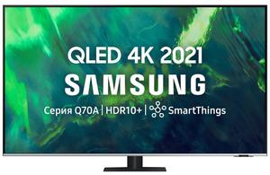 """Телевизор Samsung QE65Q70AAUXRU 65"""" (165 см) черный"""