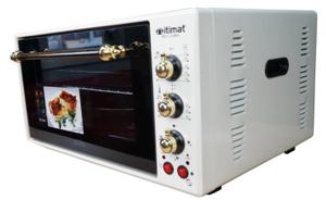 Мини-печь Itimat Gold 50л с конвекцией и подсветкой - бежевый, замена стекла