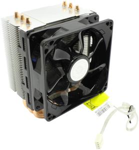 Охладитель Cooler Master < RR-TX3E-22PK-R1 > Hyper TX3 EVO (4пин, 775 / 1155 / 1366 / AM2 / AM4 / FM1, 17-30дБ, 800-2800об / мин, тепл.тр.)