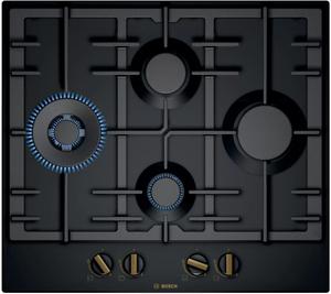 Газовая варочная панель Bosch PCI6B6B95R черный