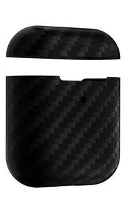 Кейс ANNET MANCINI Сarbon Series для AirPods (AM-AIR-K-BK) Black Matte / AM-AIR-K-BK / Кейс ANNET MANCINI Сarbon Series для AirPods (AM-AIR-K-BK) Blac