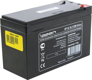 Аккумулятор Ippon IP12-9 (12V, 9Ah) для UPS