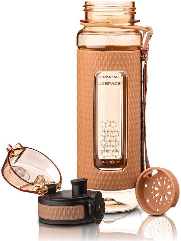 Бутылка для воды UZSPACE 5044 коричневый