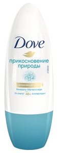 Дезодорант-антиперспирант Dove Прикосновение природы 50 мл