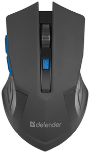 Мышь беспроводная Defender Accura MM-275 синий
