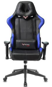 Кресло игровое Бюрократ Zombie VIKING 5 AERO синий