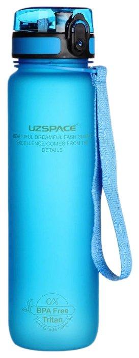 Бутылка для воды UZSPACE Colorful Frosted 3038 голубой