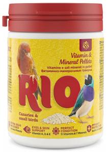 RIO / Витаминно - минеральная смесь для канареек и экзотов 120 гр.