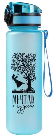 "Бутылка для воды ""Мечтай о чудесах"", 600 мл   5245424"