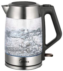Чайник электрический Midea MK 8011 серебристый