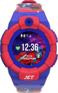 Детские умные часы Jet KID Transformers синий