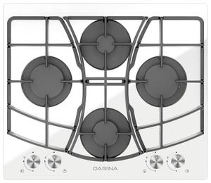 Газовая варочная панель DARINA 1T BGC341 12 W белый