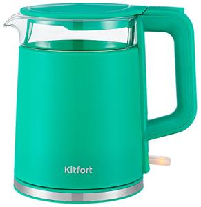 Чайник электрический Kitfort KT-6124-3 бирюзовый