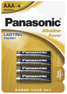 Батарейка Panasonic Alkaline Power BL*4 (4 шт)