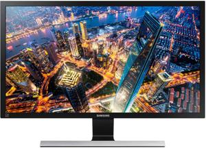 "Монитор Samsung U28E590D 28"" серый"