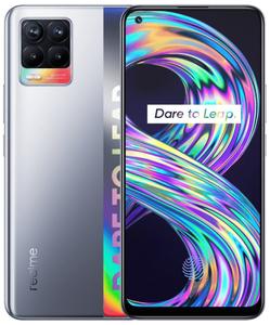 Смартфон Realme 8 128 Гб серебристый