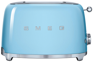 Тостер SMEG TSF01 PBEU голубой