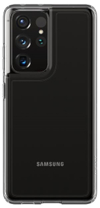 Чехол - накладка Spigen Ultra Hybrid, clear - Galaxy S21 Ultra