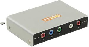 ST-Lab < M-440 > Component to HDMI Converter (Component+2xRCA-- > HDMI 19F) + б.п., нетоварный вид коробки