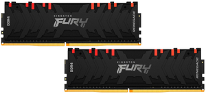 Оперативная память Kingston FURY RenegadeRGB [KF436C16RB1AK2/32] 32 Гб DDR4