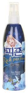 "Кондиционер-спрей для белья ""Rich Perfume Spray"" Ледяной цветок 200мл Pigeon"