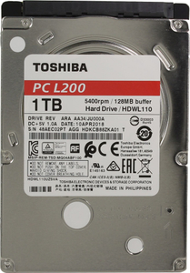 Жесткий диск Toshiba L200 [HDWL110EZSTA] 1 Тб