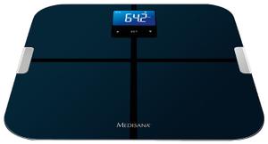 Весы напольные электронные Medisana BS 440 Connect макс.180кг черный