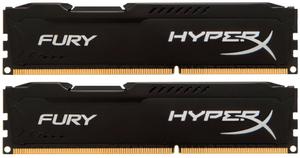 Оперативная память HyperX FURY Black Series [HX318C10FBK2/8] 8 Гб DDR3