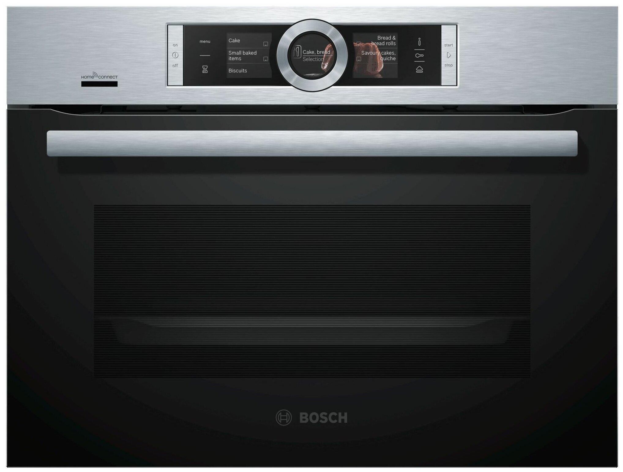 Духовой шкаф Bosch CSG656RS7 серебристый