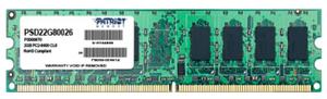 Оперативная память Patriot [PSD22G80026] 2 Гб DDR2
