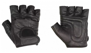 Перчатки для фитнеса STARFIT SU-115, черный (L)