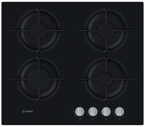 Газовая варочная панель Indesit ING 61S/BK черный