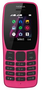 Сотовый телефон Nokia 110 DS розовый