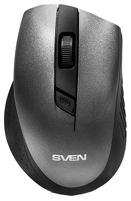 Мышь беспроводная Sven RX-325 серебристый