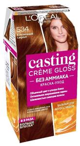 Краска-уход для волос Casting Creme Gloss 5.34 Кленовый сироп L'Oreal Paris