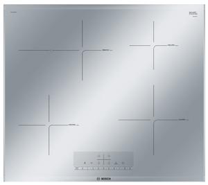 Индукционная варочная поверхность Bosch PIF679FB1E серебристый
