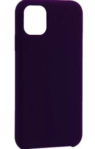 Накладка силиконовая Breaking для iPhone 11 (Черный)