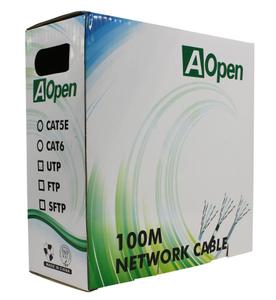 Кабель Aopen UTP 4 пары кат.5е (бухта 100м) p/n: ANC5141
