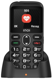 Сотовый телефон INOI 118B черный