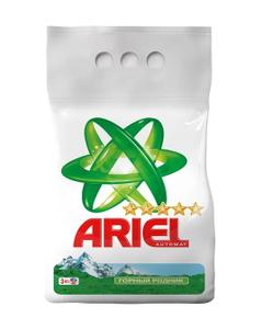 Стиральный порошок Горный родник 3кг Ariel