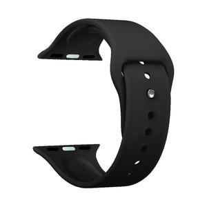 Ремешок Deppa Band Silicone для Apple Watch 38/40mm (Black)