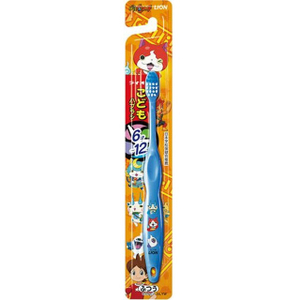 """Детская зубная щетка """"Аниме - Животные Фентези"""" (от 6 до 12 лет, средней жесткости) LION"""
