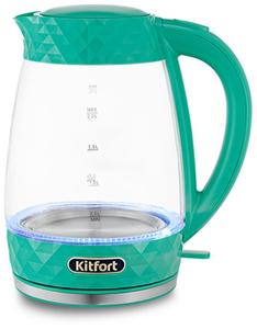 Чайник электрический Kitfort КТ-6123-3 бирюзовый