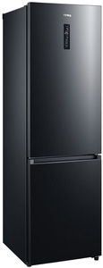 Холодильник Korting KNFC 62029 XN черный