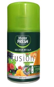 Освежитель воздуха (сменный баллон) Лесная ягода 250мл Master Fresh