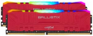 Оперативная память Crucial Ballistix Red RGB [BL2K8G36C16U4RL] 16 Гб DDR4