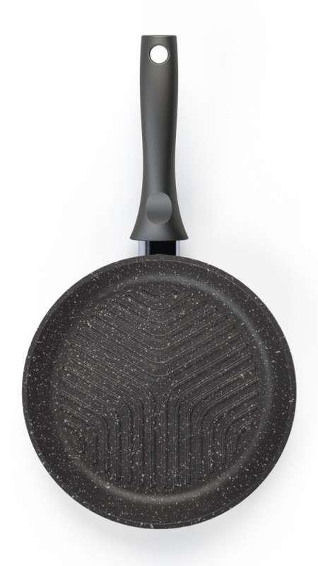 Сковорода-гриль Кукмара со стеклянной крышкой 26 см