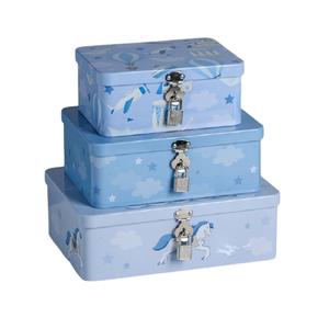 Набор коробок Enjoy every moment, 24,5 х 18 х 8 - 17,5 х 13 х 7,5 см