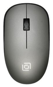 Мышь беспроводная Oklick 515MW серый