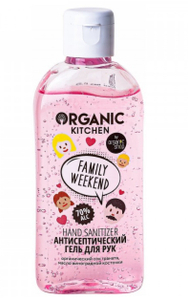 "Антисептический гель для рук ""Family Weekend"", 100 мл Organic Kitchen"